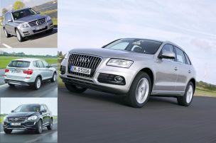 Audi Q5 und seine Konkurrenten