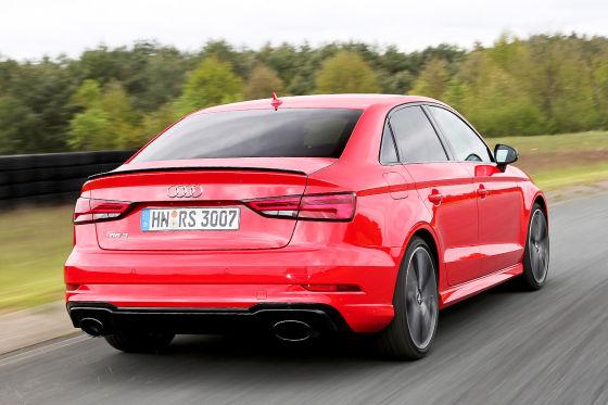 Heisser Funfender Audi Rs 3 Limousine Im Test Autobild De
