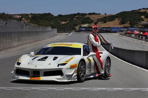 Ferrari Challenge: Fassbender gibt Debüt