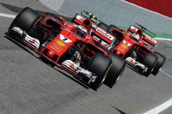 Offizielle F1-Plakate ohne Ferrari