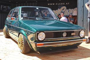 Fette VW am See