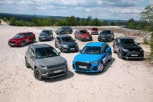Zehn SUVs mit Allrad im Check