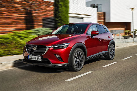 mazda cx 3 facelift 2019 erste fahrt im frischen suv. Black Bedroom Furniture Sets. Home Design Ideas