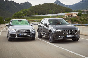 Volvo-Attacke auf den Spitzenreiter