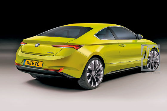 Skoda E-Coupé Illustration