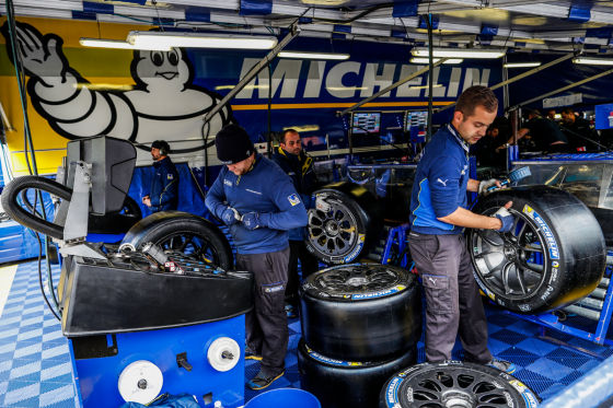 Michelin-Team in Le Mans