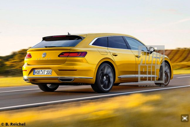 video vw arteon shooting brake  autobildde