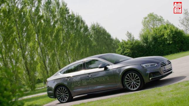 Video Audi A5 Sportback G Tron 2017 Autobild De