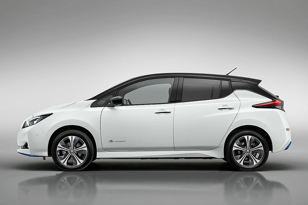 Nissan Leaf (2018): Erlkönig