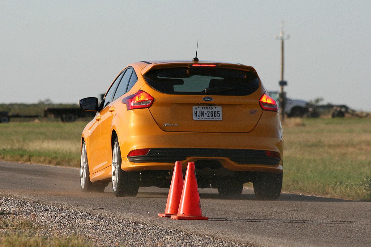 Ford Focus, Reifen-Test