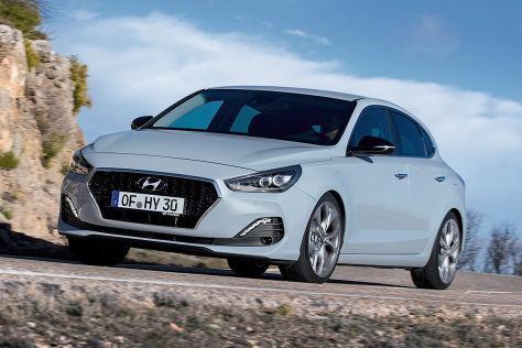 Hyundai I30 Fastback 2017 Test Motor Preis N Line Autobildde