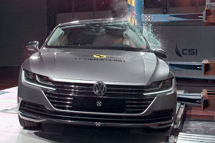 Opel Insignia, VW Arteon, Ford Mustang: Euro NCAP Crashtest 2017