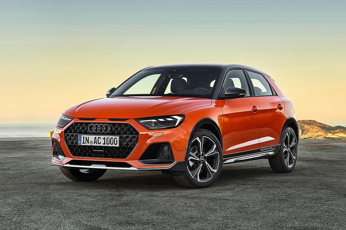 Audi Q1 Illustration