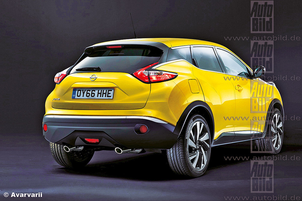 Nissan Juke Illustration