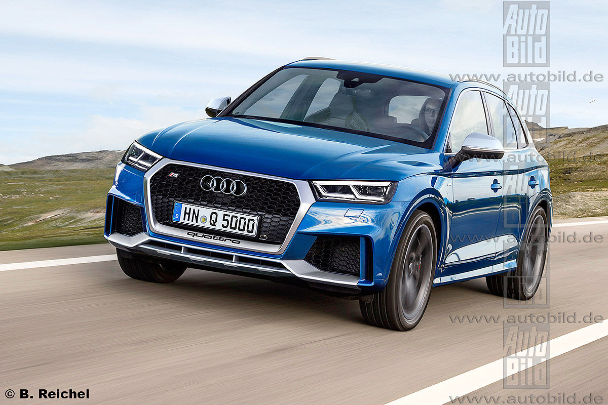 Audi RS Q5 Illustration