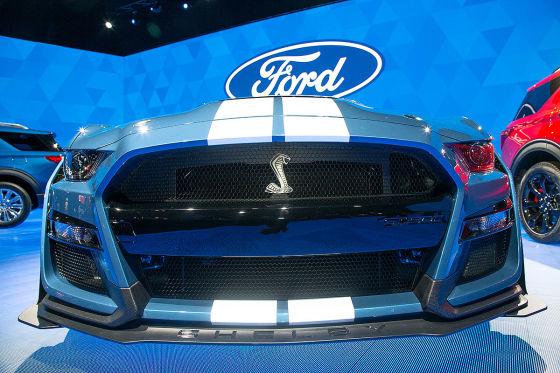 Erste Bilder vom Mustang GT 500