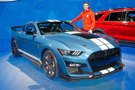 ford mustang shelby gt500 (2019): test, ps, leistung, marktstart