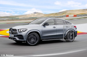 GLE Coupé & Co – neue Oberklasse-SUVs