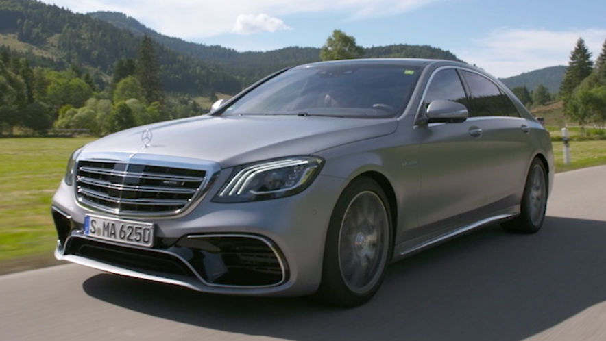 Video: Mercedes S-Klasse / AMG S 63 (2017) - AUTO BILD