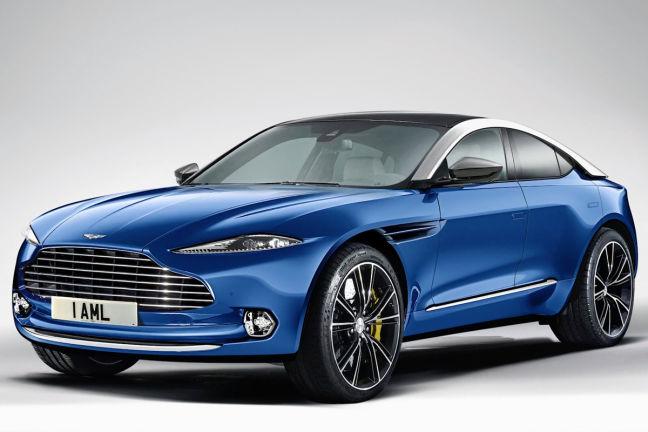 Video Aston Martin Dbx 2019 Autobild De