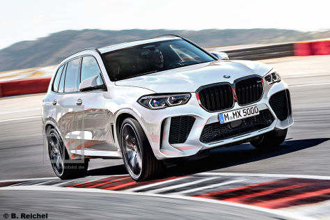 bmw x5 m 2019 neue infos preis motor. Black Bedroom Furniture Sets. Home Design Ideas