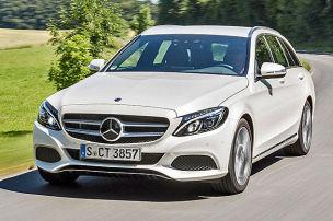 Ein Mercedes in neuem Licht