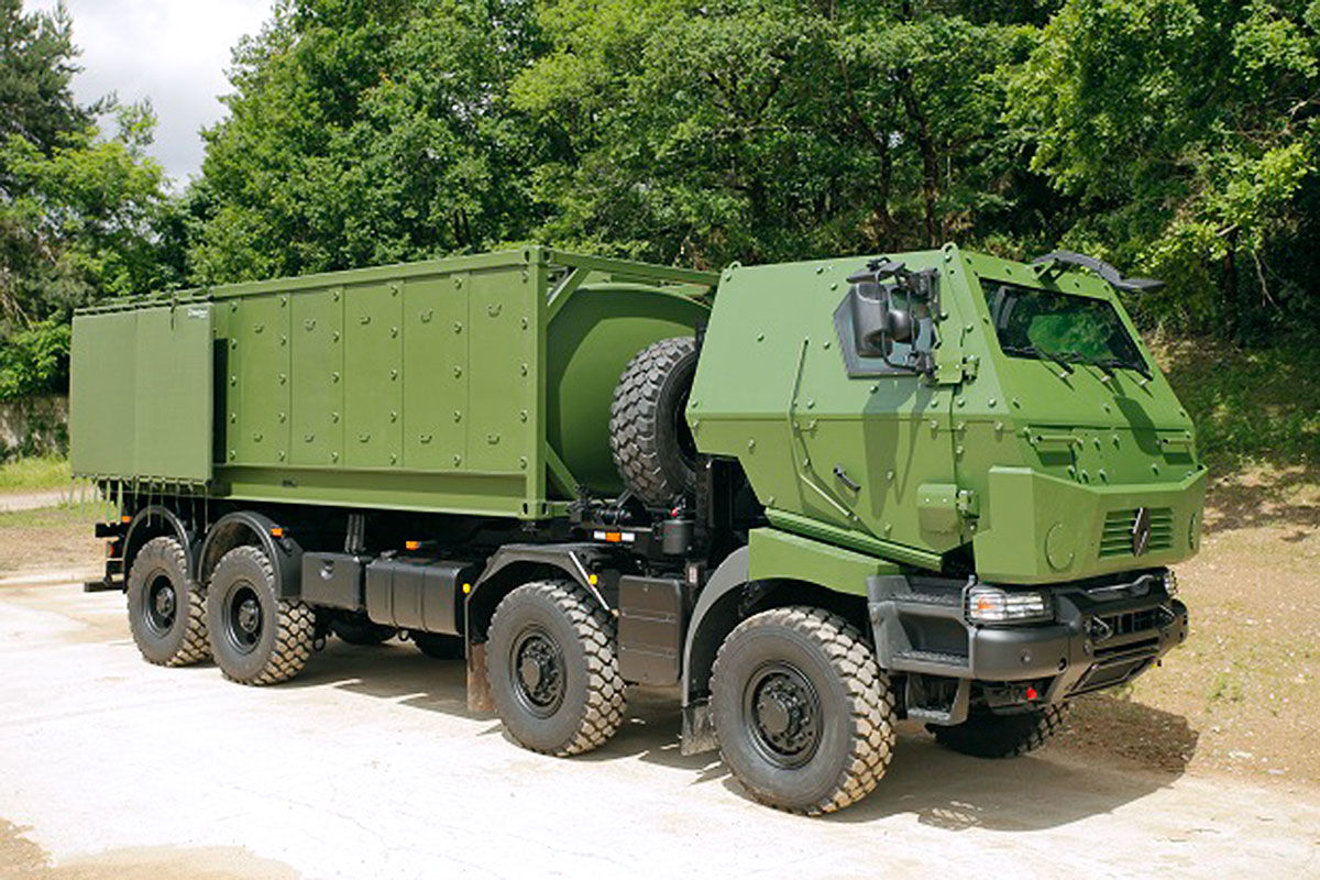 Die größten Panzer-Lkw