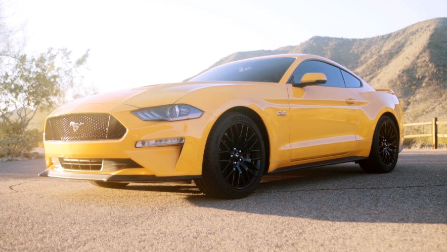 Video: Ford Mustang GT (2018) - AUTO BILD