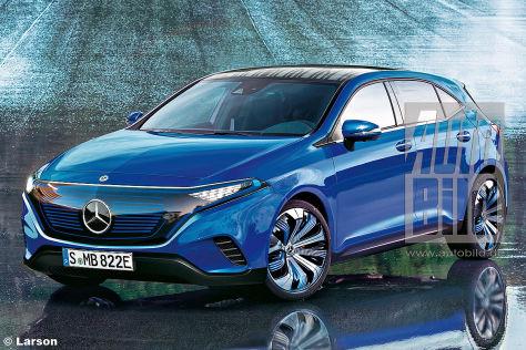 Mercedes EQ-A (2020): Vorschau - autobild.de
