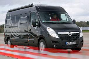 Ein Opel will nach oben
