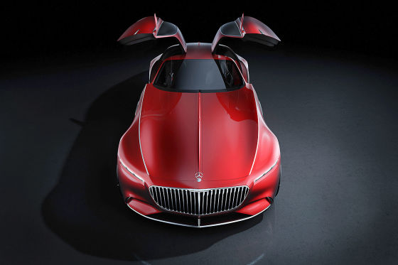 Mercedes Maybach 6 !! Sperrfrist 19. August 2016 03:00 Uhr (MEZ) !!
