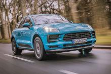 Porsche Macan Facelift (2018): Erlkönig