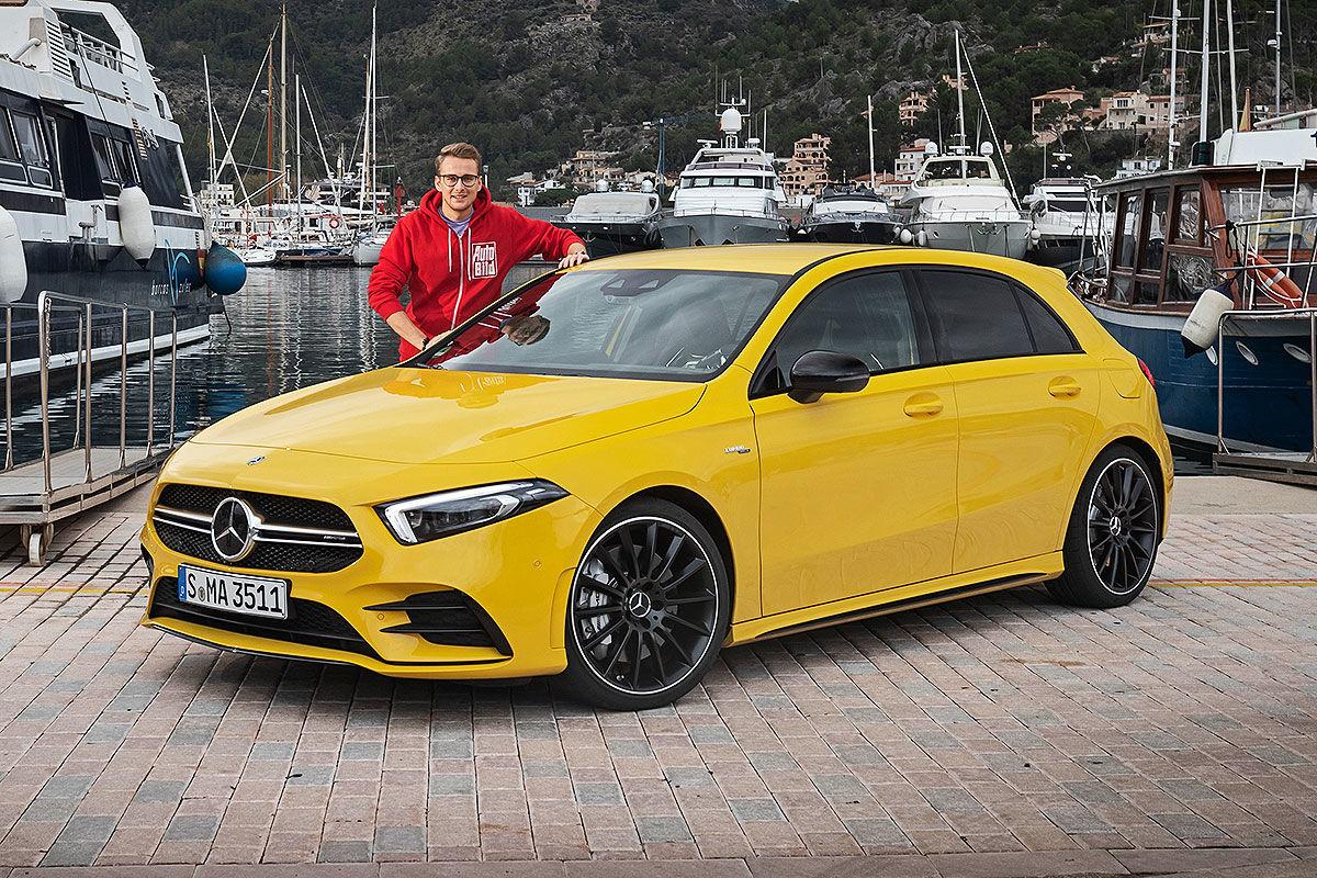 Mercedes-AMG A 45 W177 (2018): PS, Preis, A 50