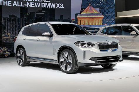 BMW iX3 (2018): Vorstellung, Marktstart, Reichweite ...