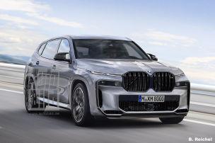 BMW X8 mit neuem SUV-Markengesicht?