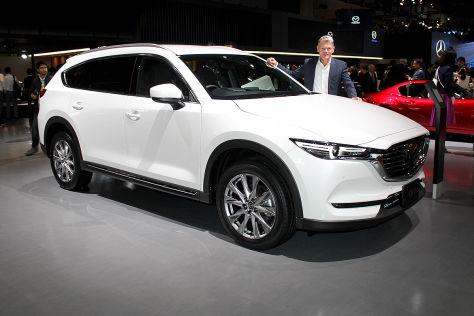 Mazda CX-8 (2018): Teaser