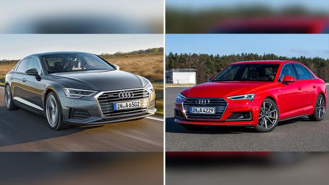 Video Audi A6 Gegen Audi A4 Facelift 2018 2019 Autobild De