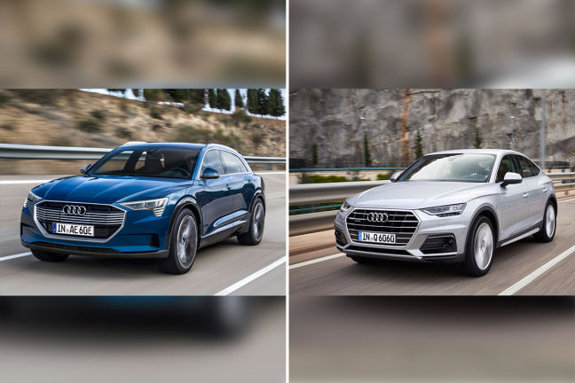 Video: Audi e-tron vs Audi Q6 (2018) - autobild.de