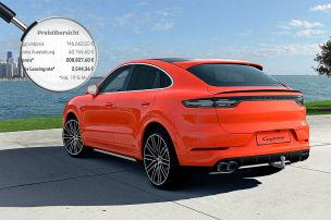 Cayenne Turbo Coupé für über 200.000 €