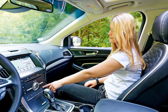 Ford Edge Vignale Innenraum