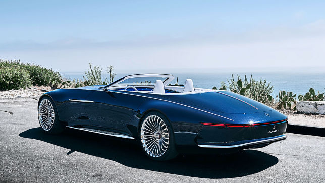 video: vision maybach 6 cabriolet (2018) - autobild.de
