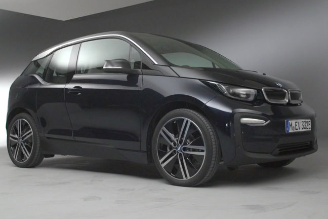 video bmw i3 facelift 2017. Black Bedroom Furniture Sets. Home Design Ideas