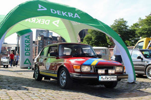 Check-in zur Klassiker-Rallye