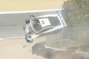 Video: Mega-Crash in Laguna Seca