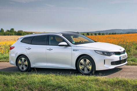 Kia Optima Sportswagon Plug In Hybrid 2017 Test