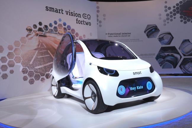 Video: Smart Vision EQ fortwo (2020) - autobild.de
