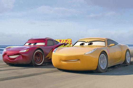 Lightning McQueen gibt Vollgas