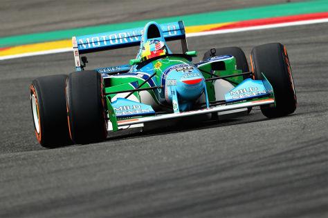 Formel 1 Schumi Ehrenrunde In Spa Mick Ein Hammergefühl