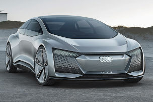 Audis autonomes Luxusmobil