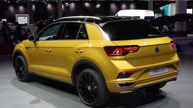 video: vw t-roc r-line (iaa 2017) - autobild.de